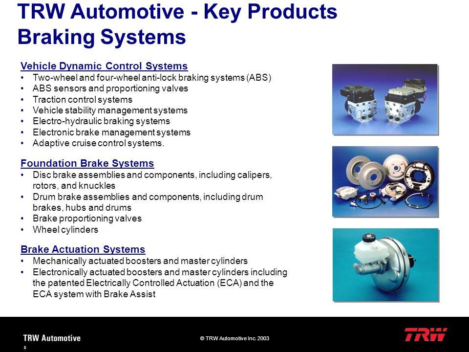 © TRW Automotive Inc.2003 29 Warum scheitern Projekte.