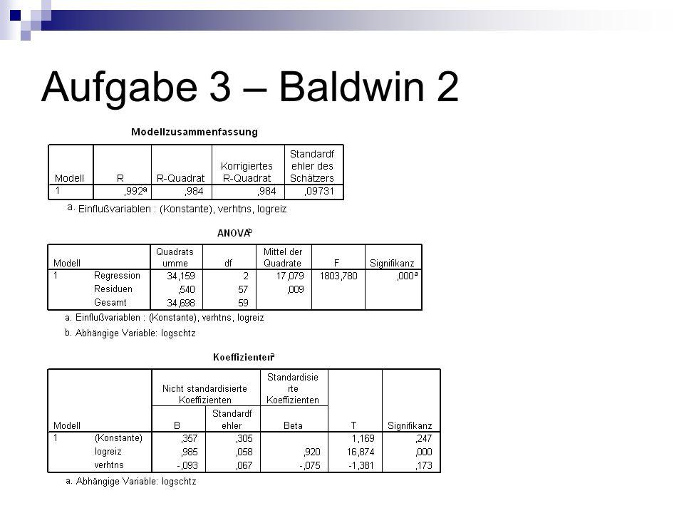 Aufgabe 3 – Baldwin 2