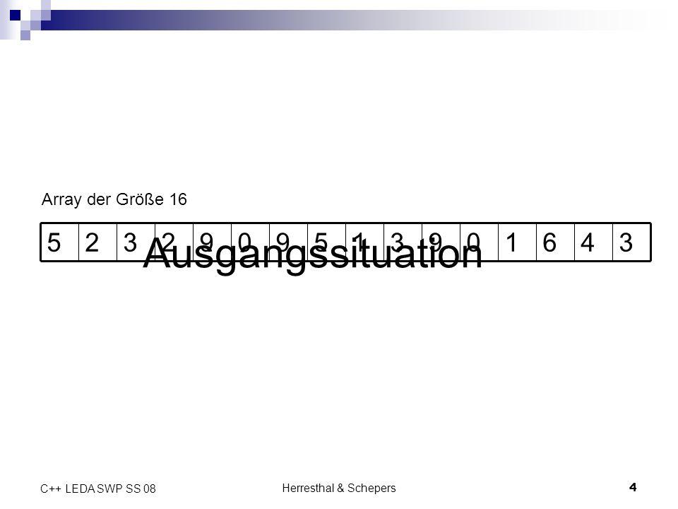 Herresthal & Schepers5 C++ LEDA SWP SS 08 1.