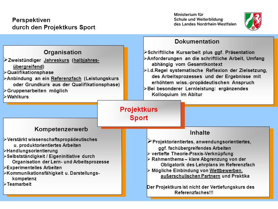 Inhalte Projektorientiertes, anwendungsorientiertes, ggf. fachübergreifendes Arbeiten vertiefte Theorie-Praxis-Verknüpfung Rahmenthema – klare Abgrenz