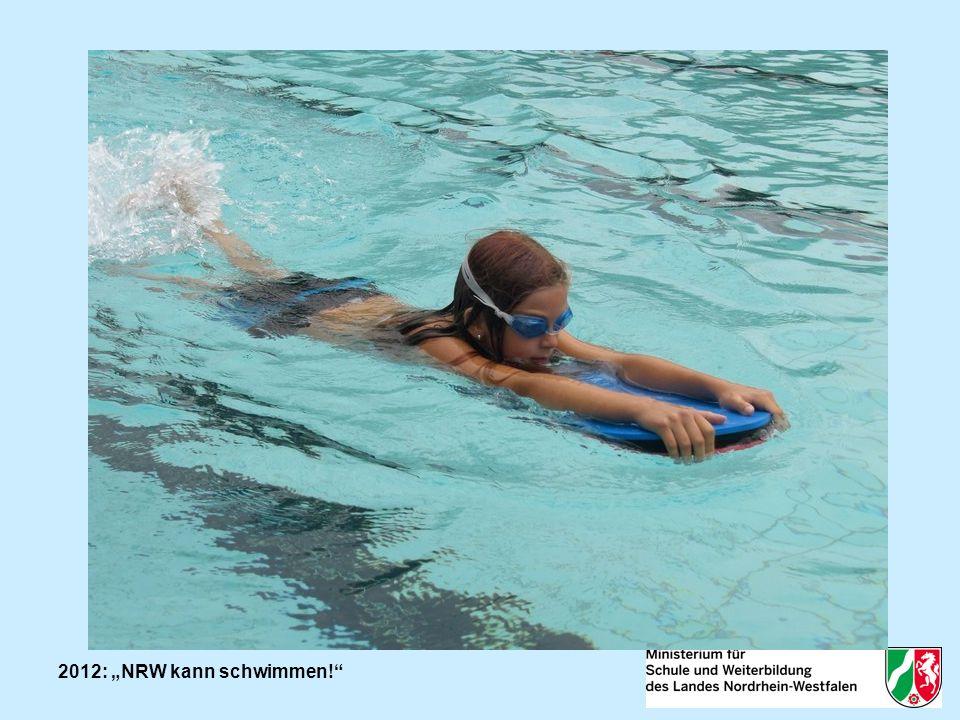 2012: NRW kann schwimmen.Was ist seit 2012 neu. Erweiterter Adressatenkreis: 3.