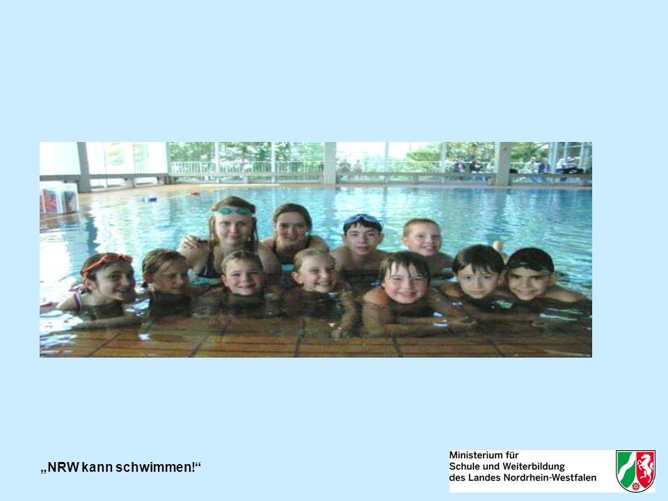 2012: NRW kann schwimmen! Darstellung der Ergebnisse
