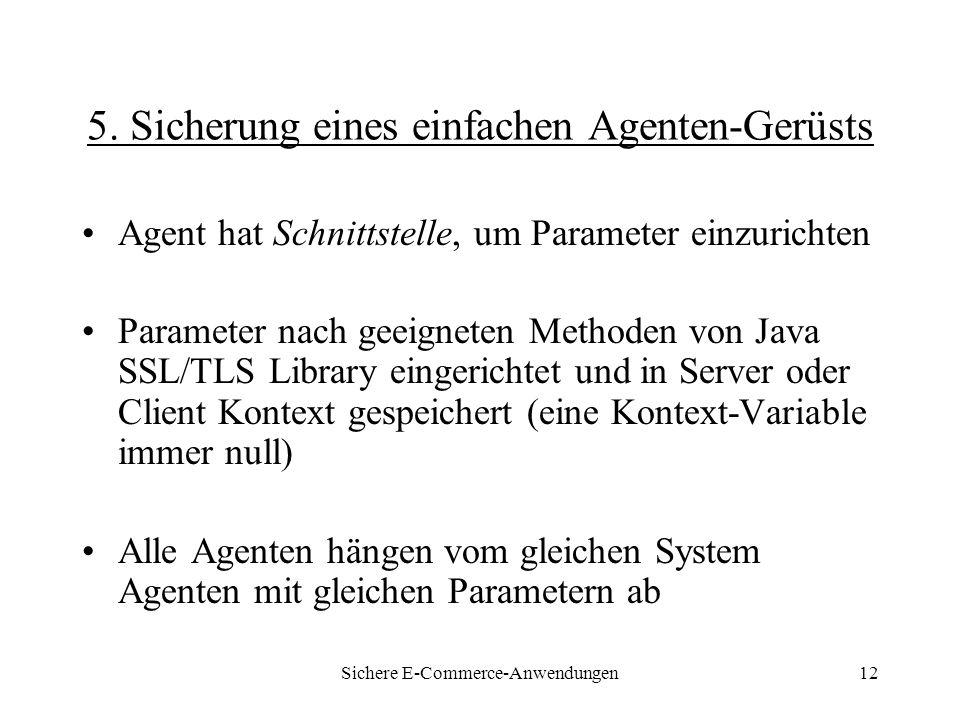 Sichere E-Commerce-Anwendungen12 5.