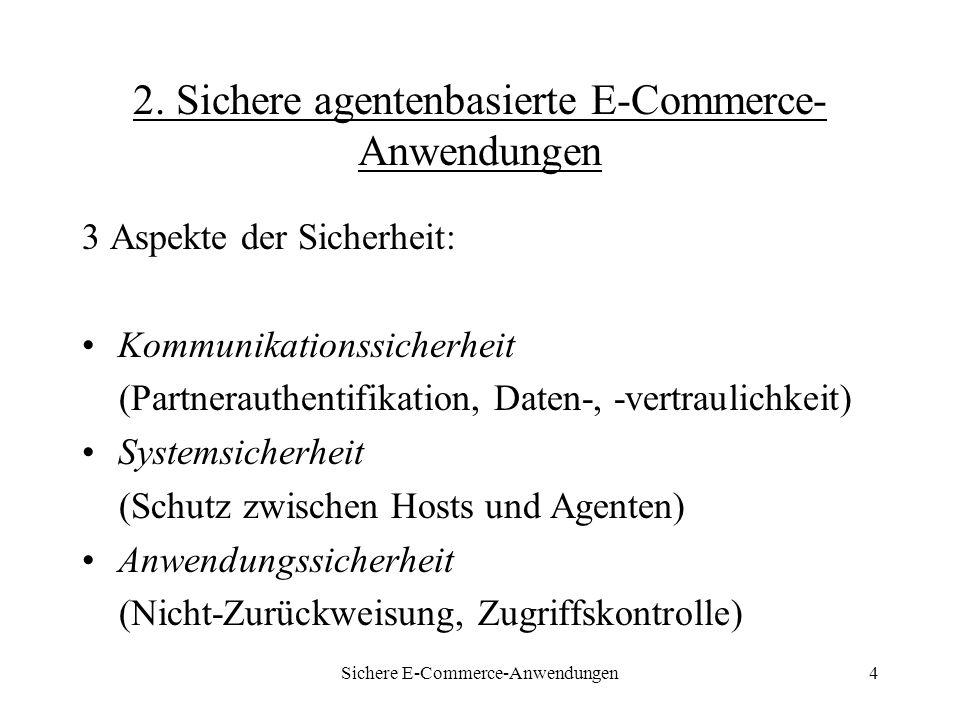 Sichere E-Commerce-Anwendungen5 3.