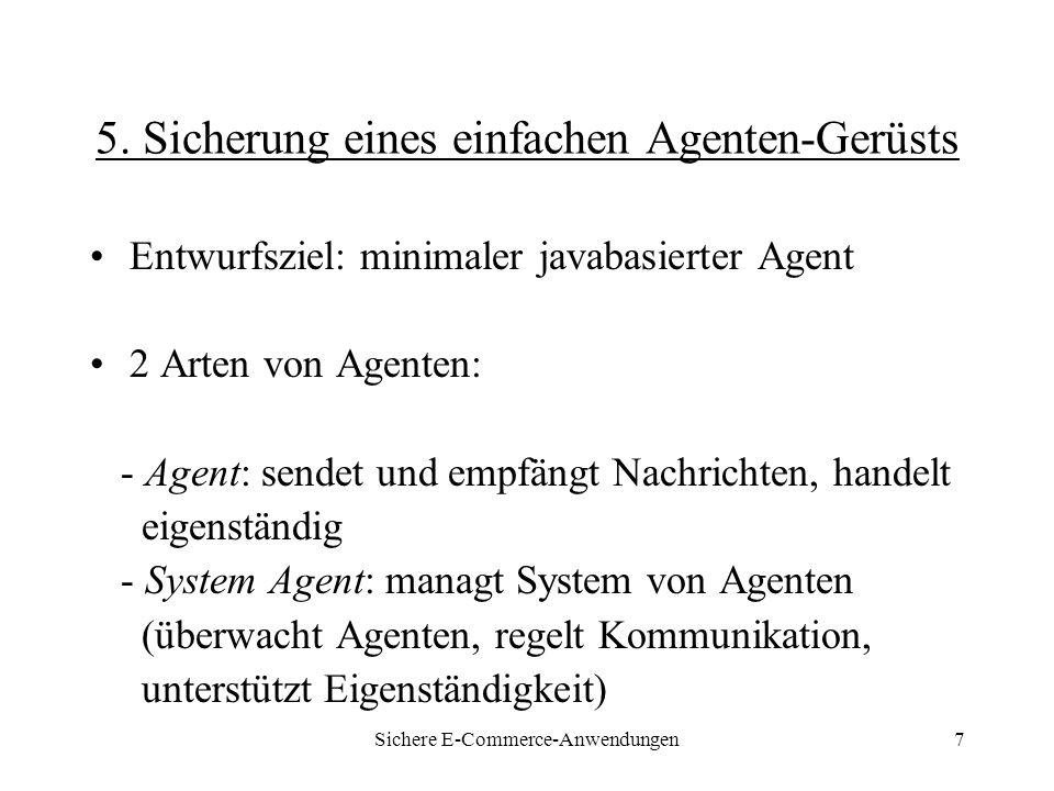 Sichere E-Commerce-Anwendungen18 7.Bzgl.