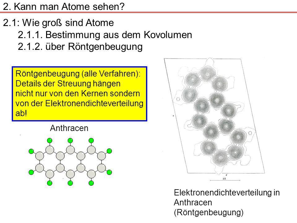 2.Kann man Atome sehen.