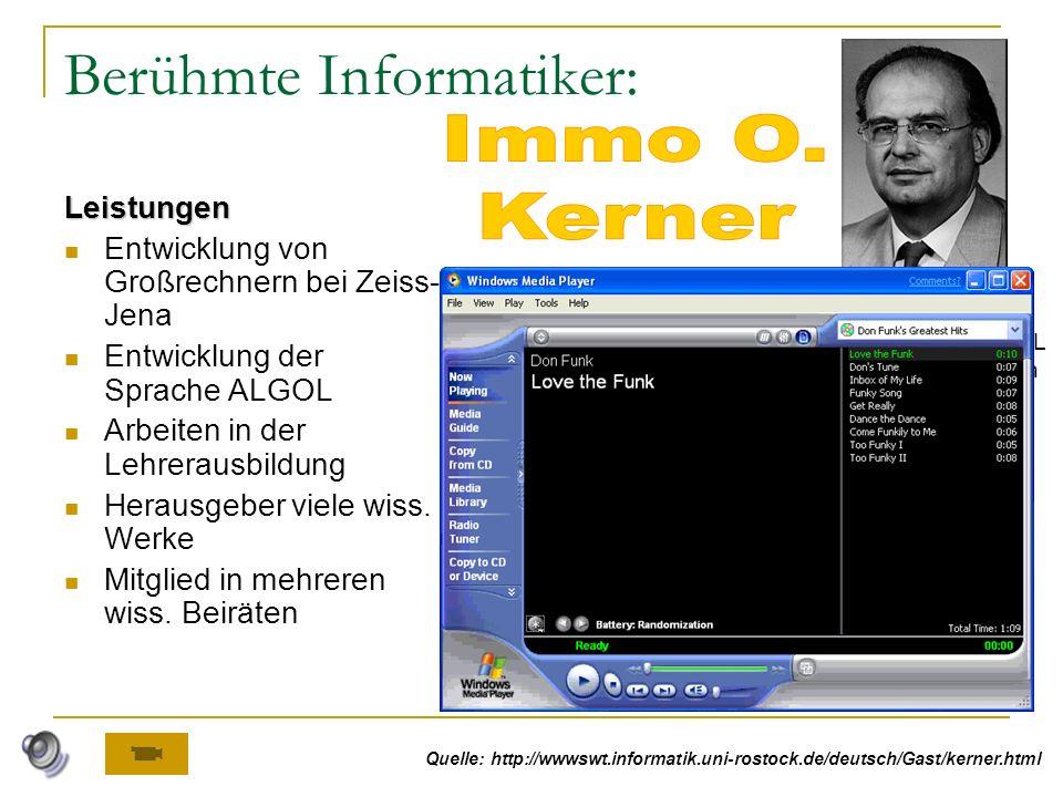 Programme zur Erstellung von Multimediadokumenten Folien in Multimediadokumenten enthalten Informationsdarstellungen unterschiedlicher Art: Text, Graf