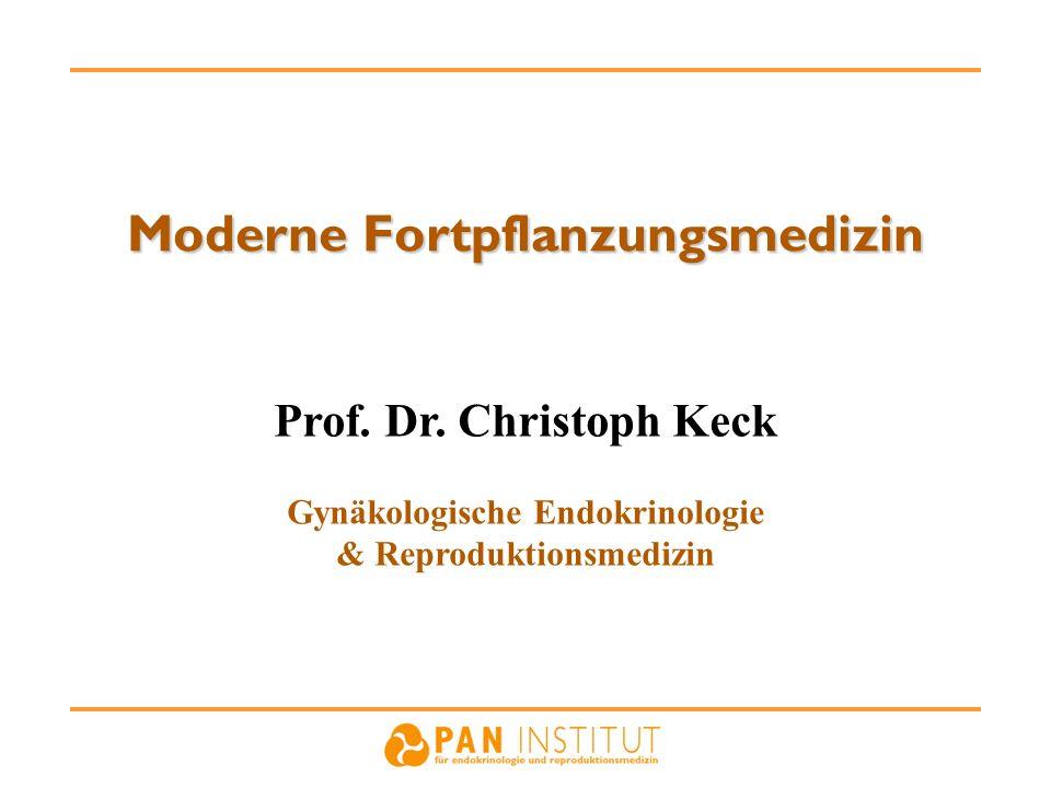 Moderne Fortpflanzungsmedizin Prof. Dr. Christoph Keck Gynäkologische Endokrinologie & Reproduktionsmedizin