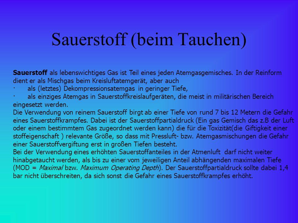 Quellenangaben 1.http://de.wikipedia.org/wiki/Sporttauchen 2.