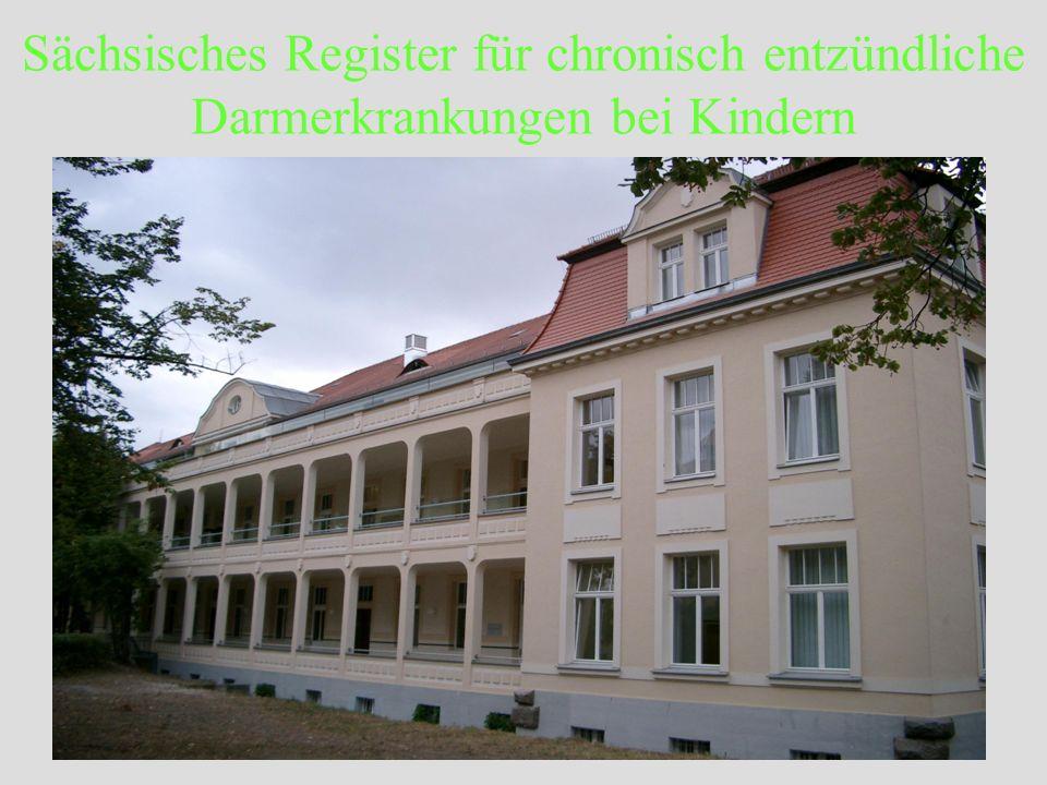 Sächsisches Register für chronisch entzündliche Darmerkrankungen bei Kindern Register- Ergebnisse: diagnostische Latenz