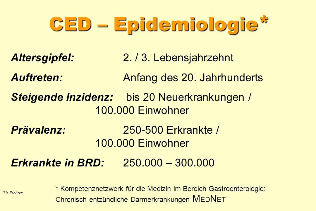 Th.Richter Viele CED-Patienten behandelt (n ges =31)