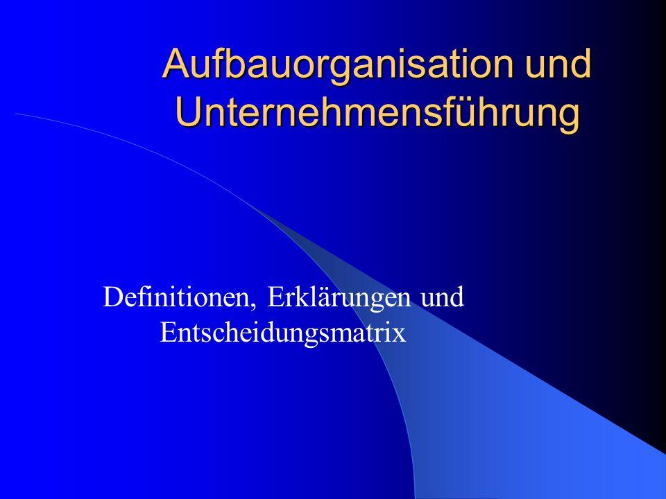 Teil 2: Unternehmensführung Bearbeiter: Bastian Bansemir Florian Howacker