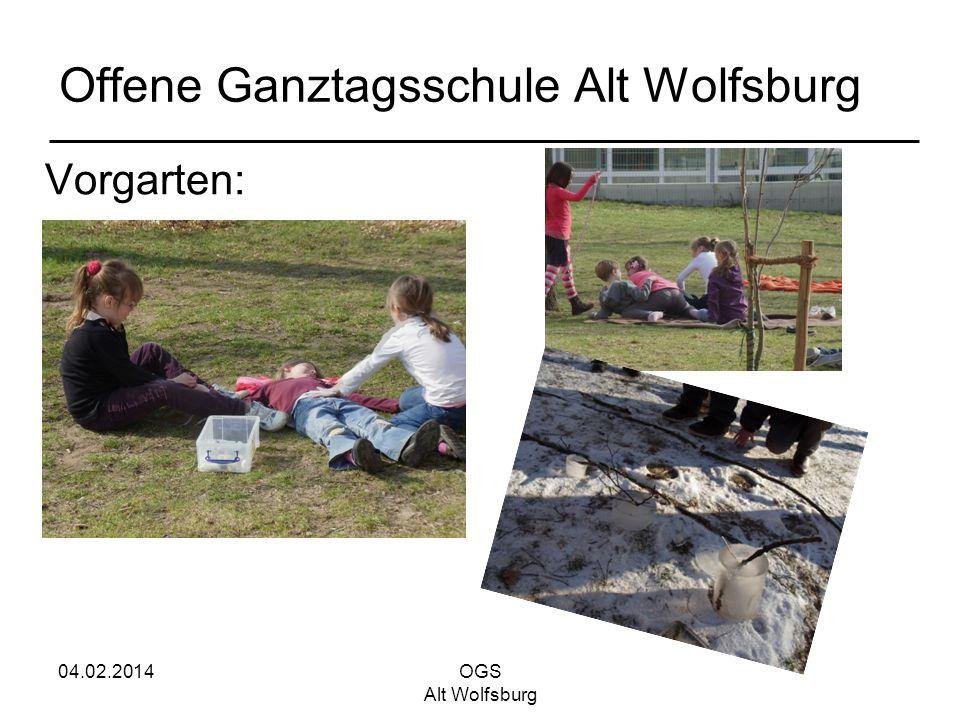 04.02.2014OGS Alt Wolfsburg Offene Ganztagsschule Alt Wolfsburg Vorgarten: