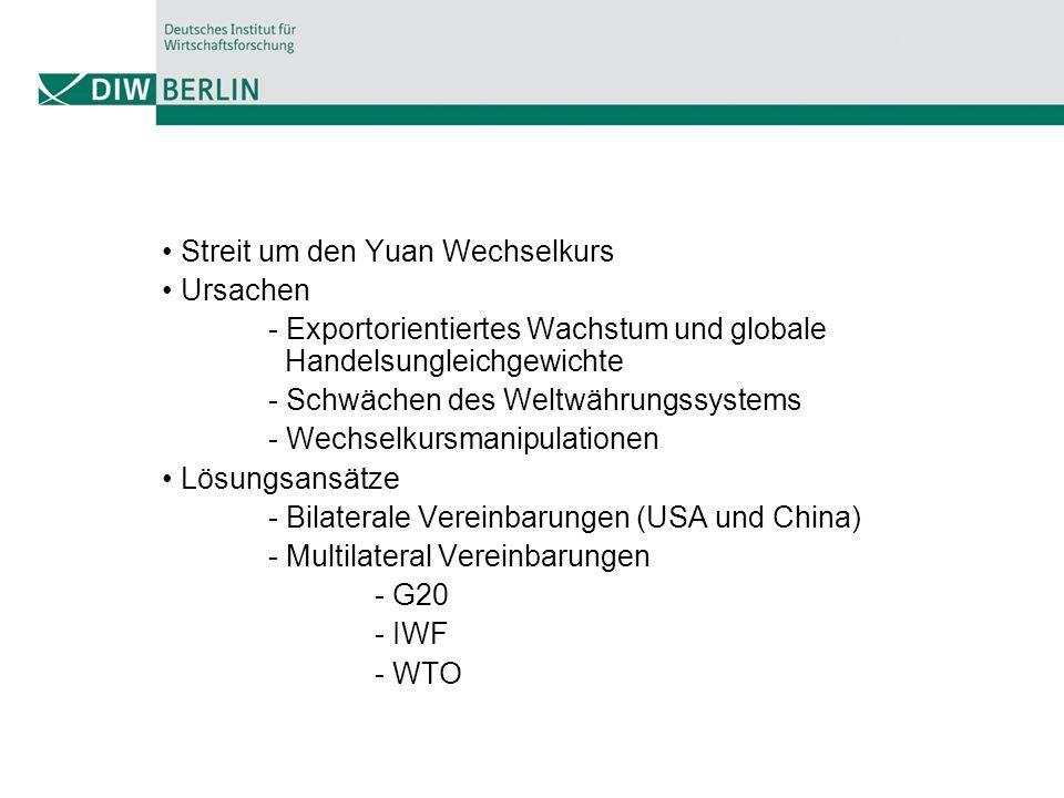 Gefahren - Währungskrieg - Handelskrieg - Weltwirtschaft - Kapitalverkehrskontrollen