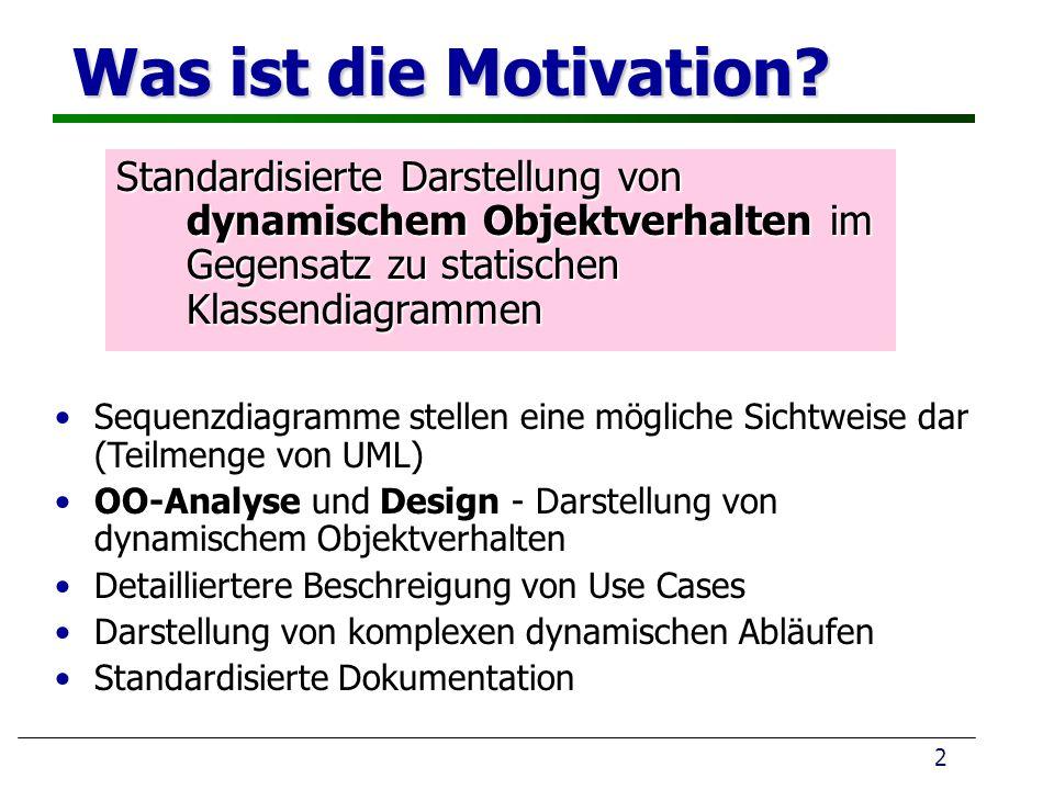Was ist die Motivation.