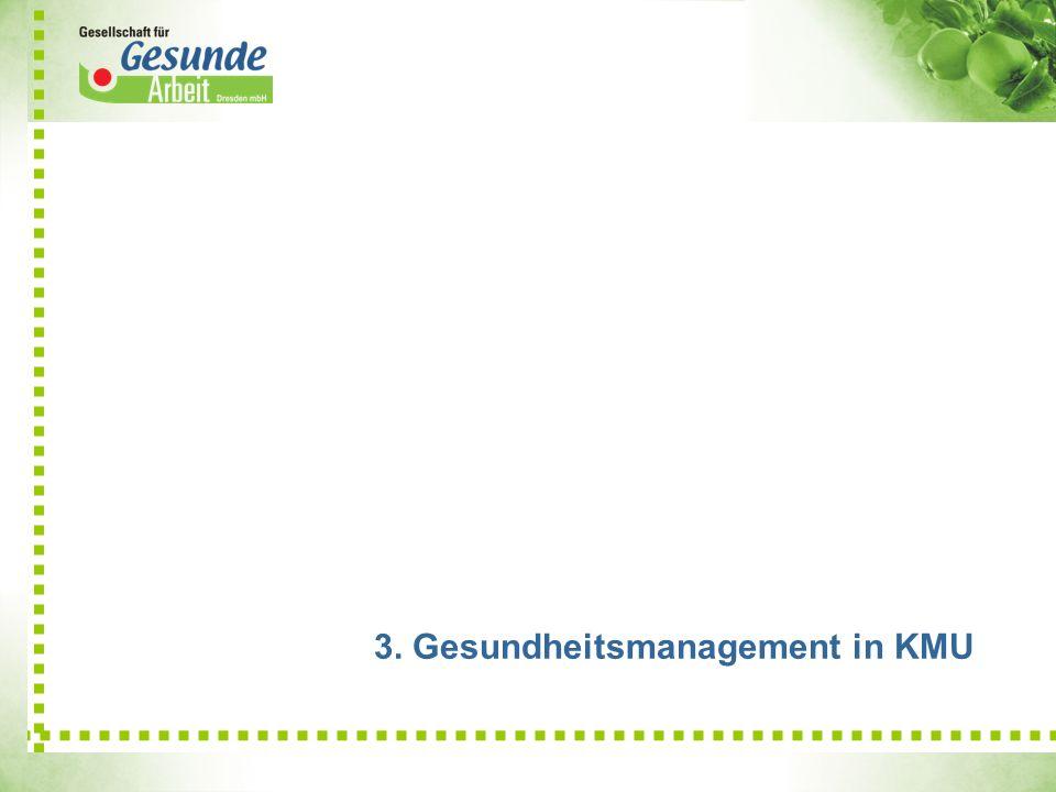 3. Gesundheitsmanagement in KMU