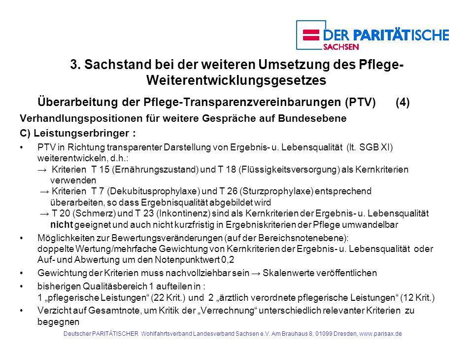 Deutscher PARITÄTISCHER Wohlfahrtsverband Landesverband Sachsen e.V.