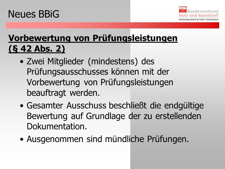 Neues BBiG Zulassung vollzeitschulischer Ausbildung (§ 43 Abs.