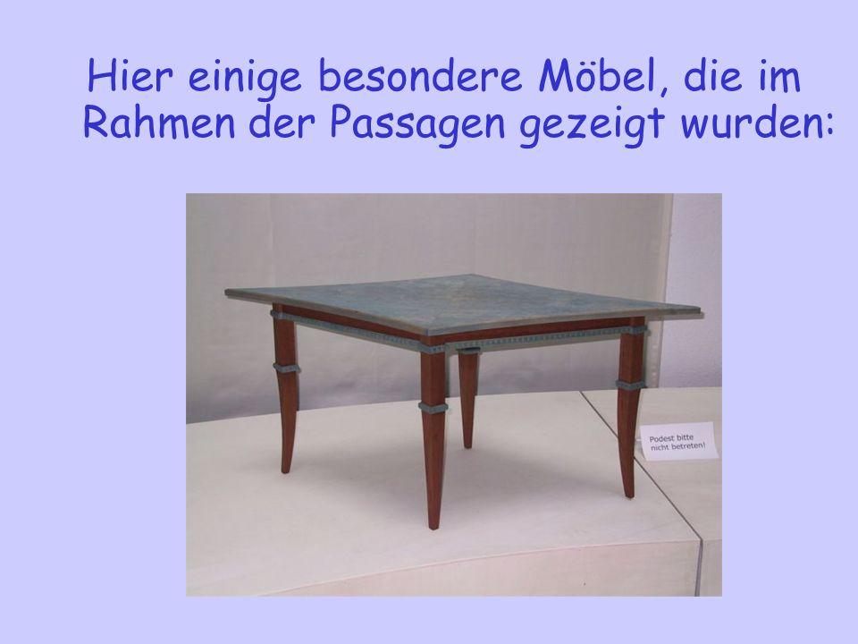 C-Möbel zeichnen sich dadurch aus, dass: Eckverbindungen mittels Falttechnik hergestellt werden. als Mittellage Stoff, Leder oder Lefa (Lederfaserstof