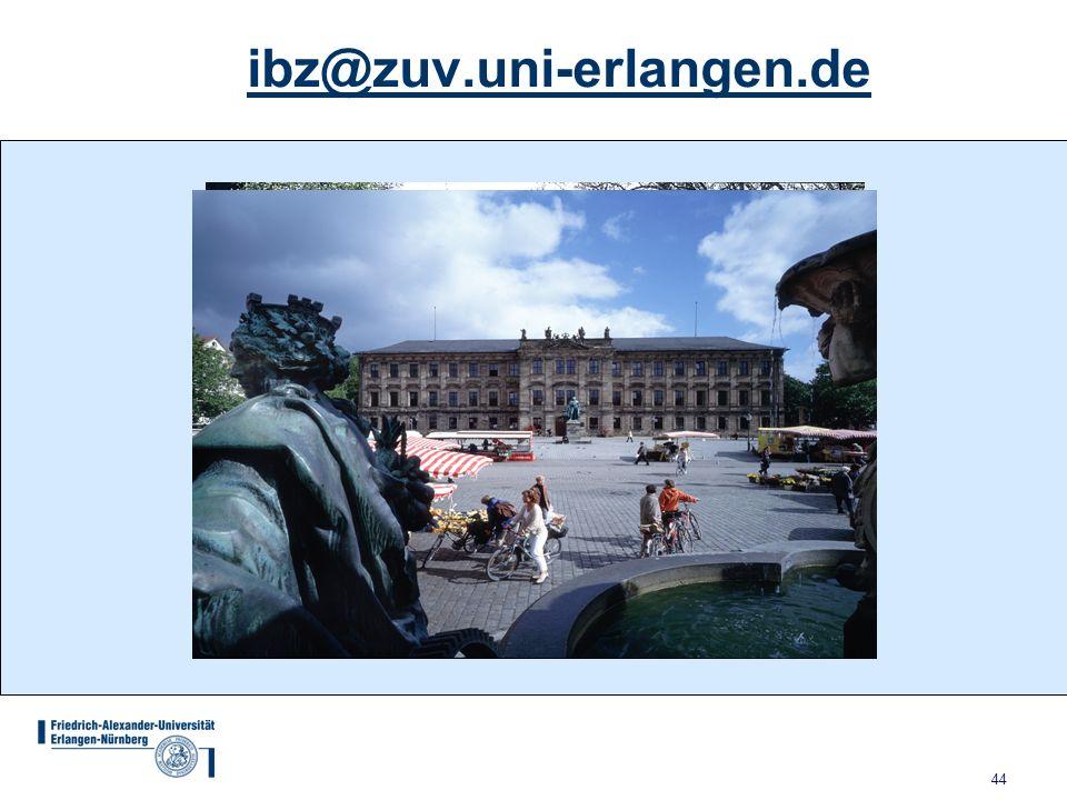 44 ibz@zuv.uni-erlangen.de
