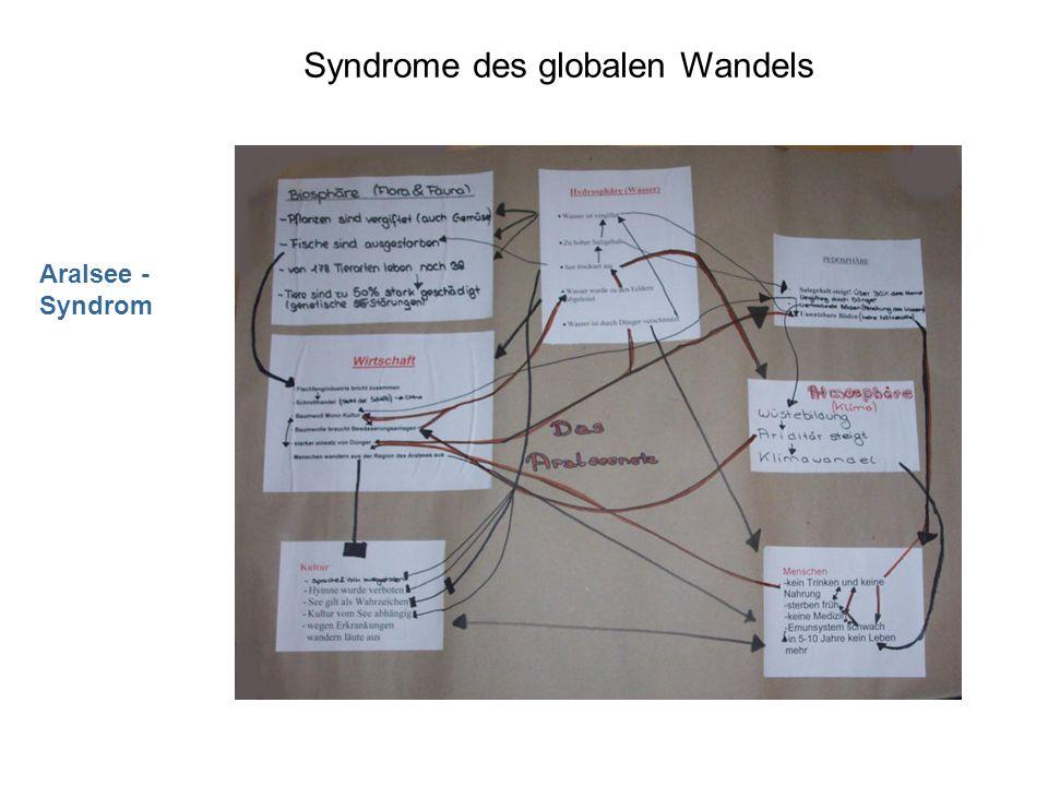Syndrome des globalen Wandels Aralsee - Syndrom