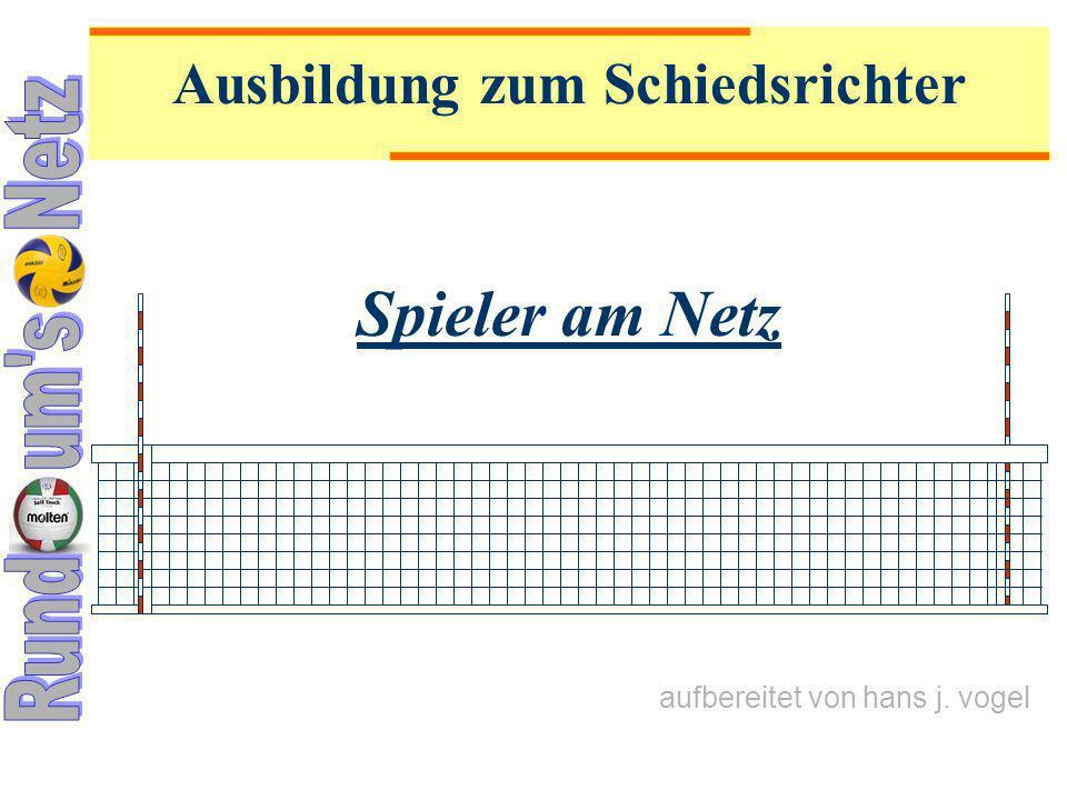 25.06.09 Spieler am Netz22 11.4 Spielfehler am Netz E IN S PIELER BEEINFLUSST DAS GEGNERISCHE S PIEL U.