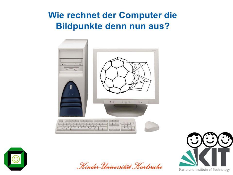 Kinder-Universität Karlsruhe Das also haben Dinosaurier mit Computern zu tun! !