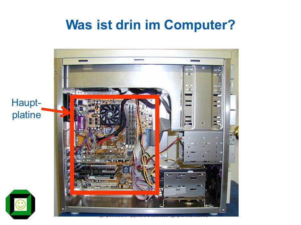 Kinder-Universität Karlsruhe Was ist drin im Computer? Haupt- platine