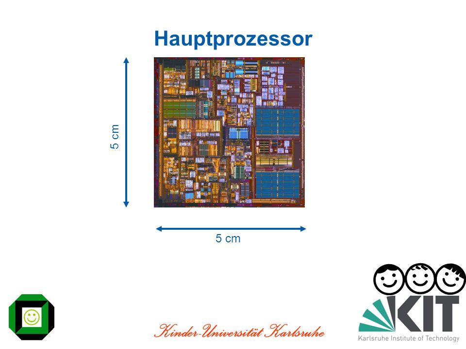 Kinder-Universität Karlsruhe Hauptprozessor 5 cm