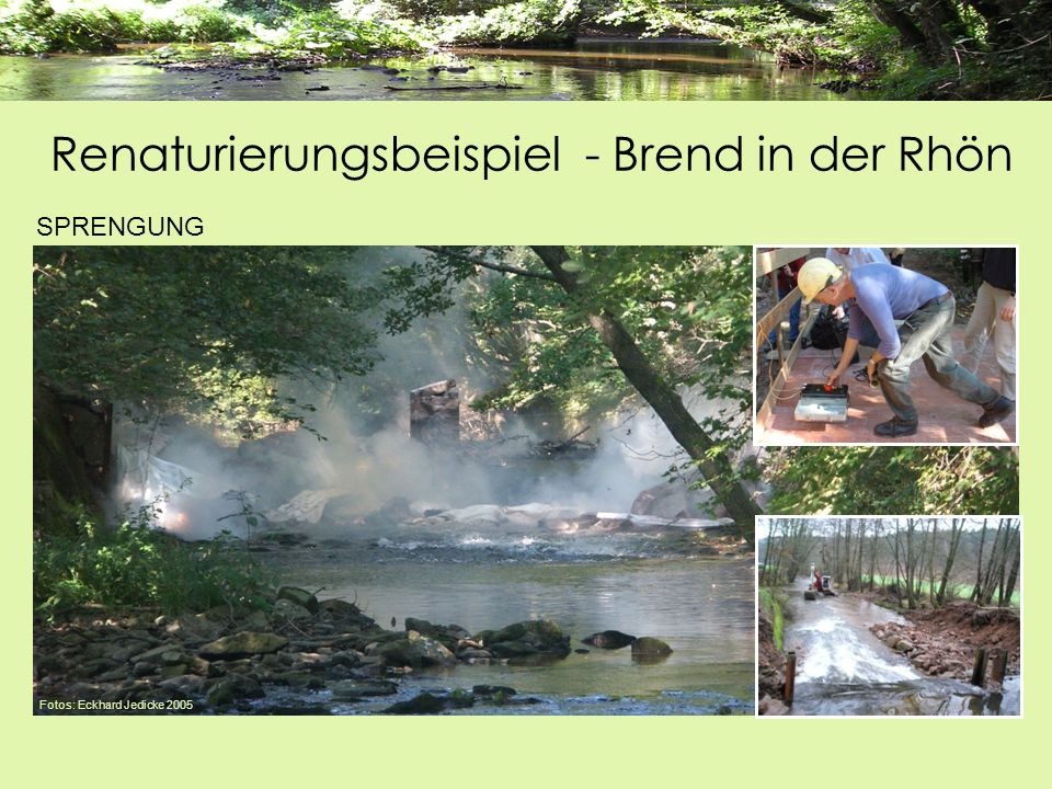 Fotos: Eckhard Jedicke 2005 SPRENGUNG