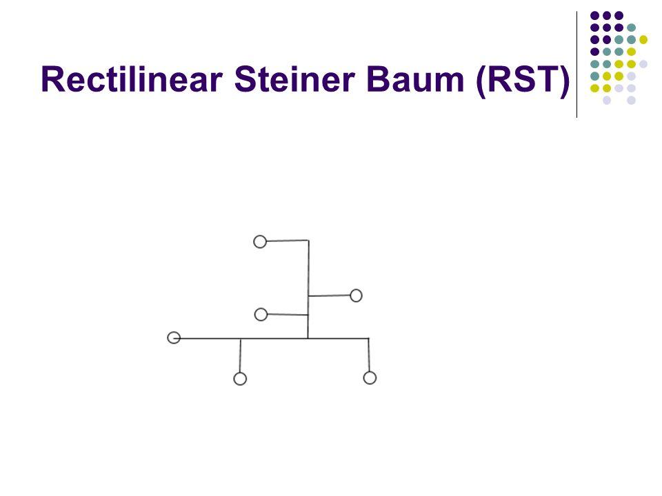 Rectilinear Steiner Baum (RST)