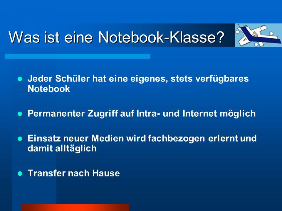 Was ist eine Notebook-Klasse.