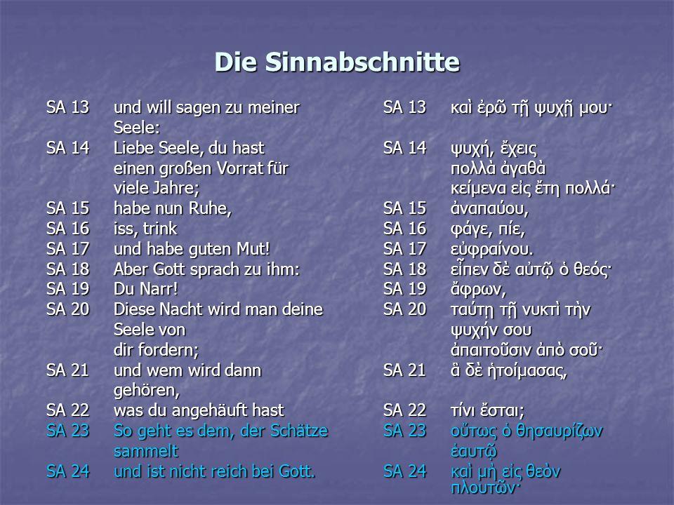 Parallelstellen und – erzählungen I. Gnostisches Thomasevangelium II. Märchen aus 1001 Nacht