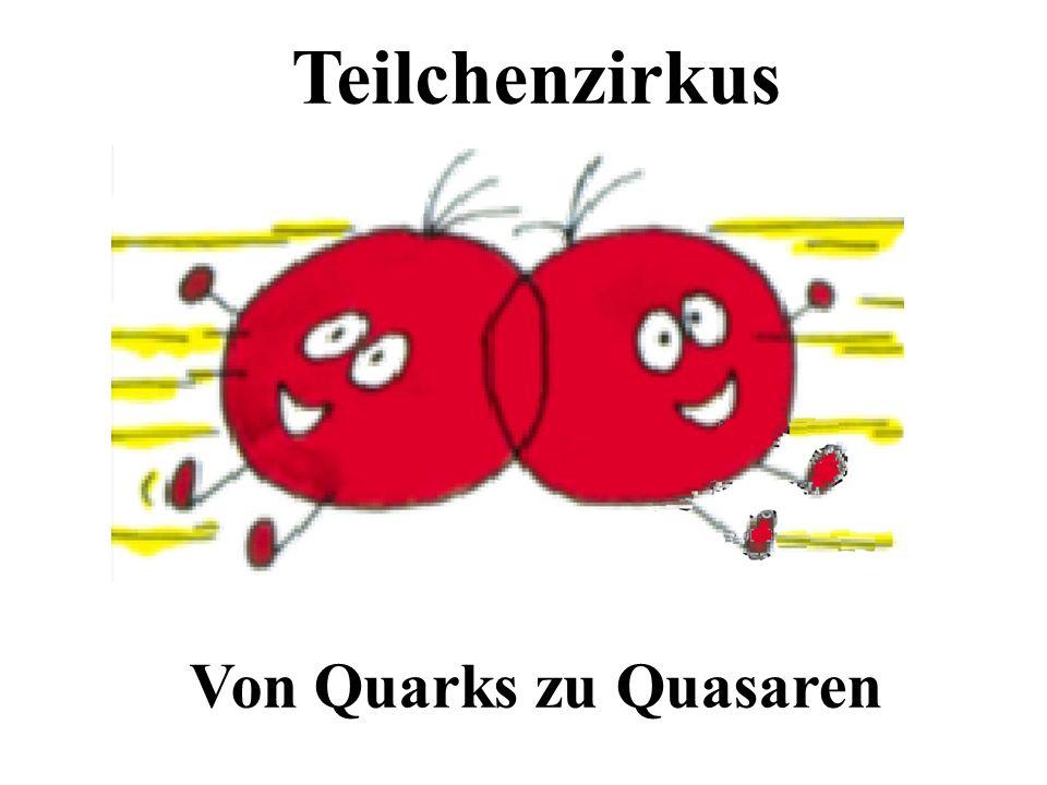 Teilchenzirkus Universität BonnVon Quarks zu Quasaren Oktober 2004 Teilchenzirkus Von Quarks zu Quasaren