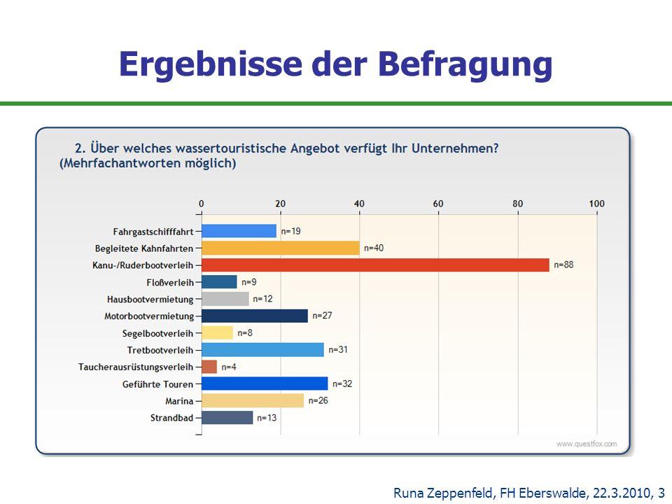 Ergebnisse der Befragung Runa Zeppenfeld, FH Eberswalde, 22.3.2010, 3