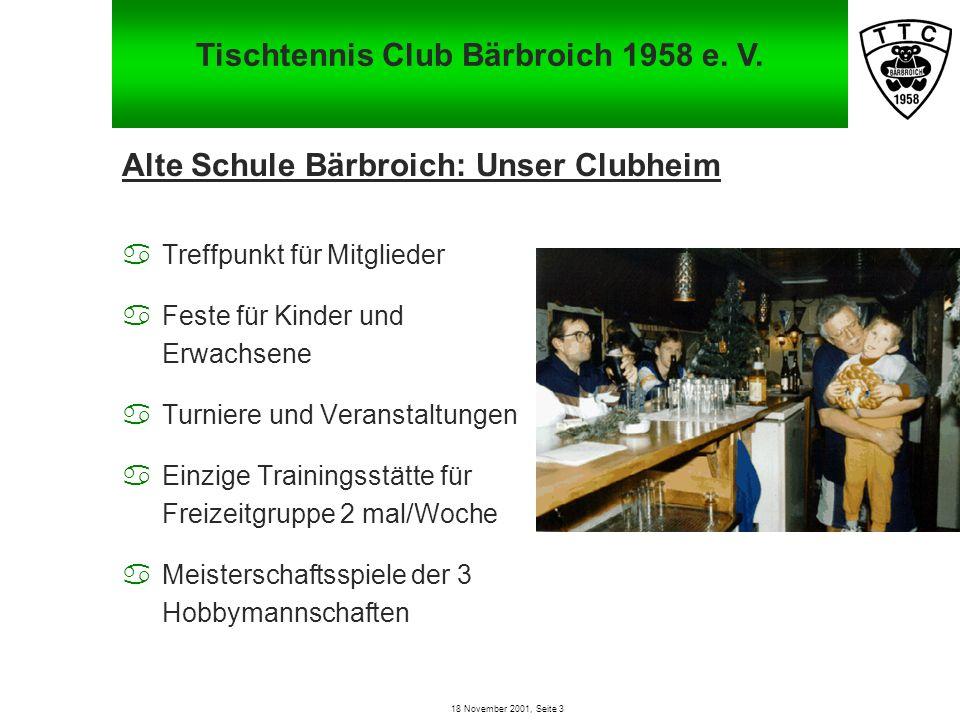 Tischtennis Club Bärbroich 1958 e. V.