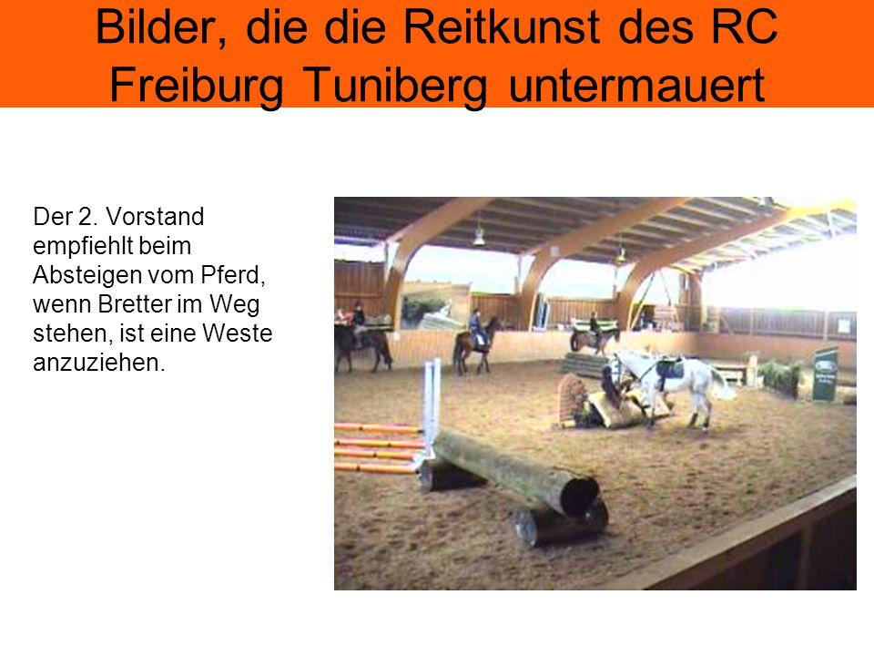Bilder, die die Reitkunst des RC Freiburg Tuniberg untermauert Wenn Pferde eine eigene Meinung haben, sollte das akzeptiert werden, denn Westernreiten macht mehr Spaß.