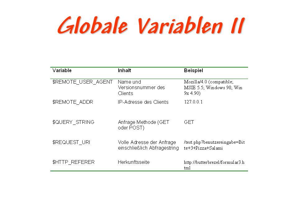 Hidden Inputs – Problem !!.Problem: !!. Daten werden nicht von 1.