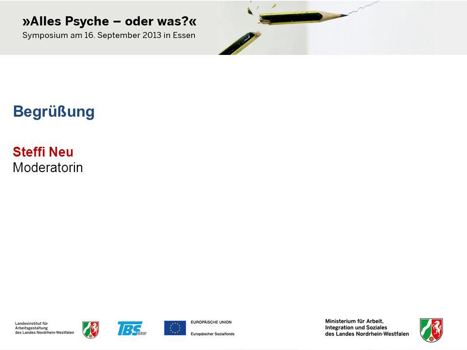 Get together mit Kaffee und Kuchen Dokumentation: www.arbeitsschutz.nrw.de www.lia.nrw.de/psyche www.tbs-nrw.de/psyche