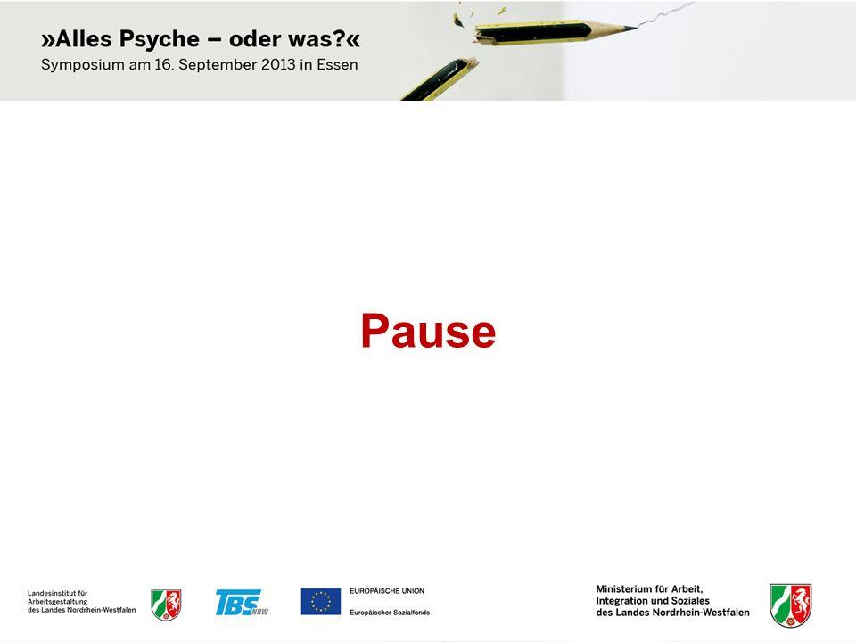 Podiumsdiskussion: Stress im Job: Schick oder Schicksal.