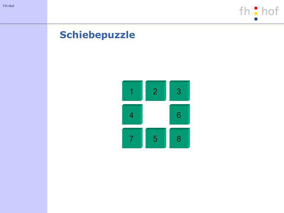 FH-Hof Schiebepuzzle 123 4 5 6 78