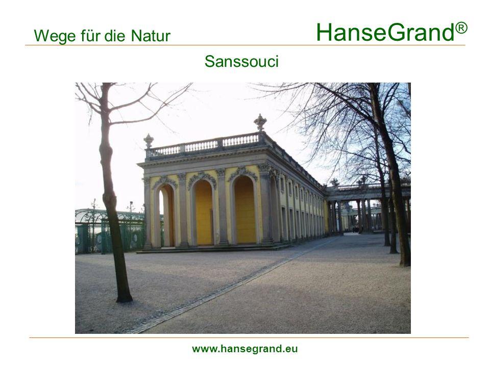 HanseGrand ® www.hansegrand.eu Sanssouci Wege für die Natur zweilagiger Aufbau