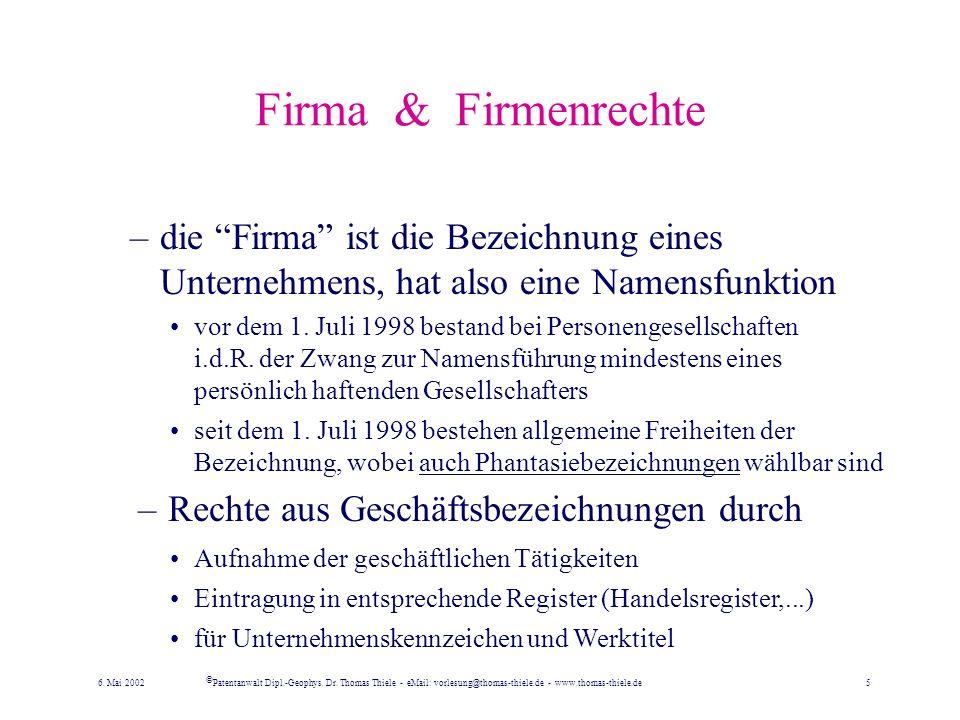 Erwerb von Markenrechten –Erwerb von Markenrechten durch: Beantragung bei einem Amt, z.B. –Deutschen Patent- und Markenamt (DPMA), –EU-Harmonisierungs