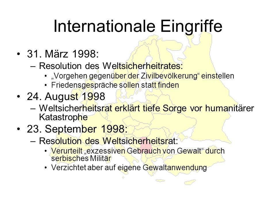Internationale Eingriffe 31.