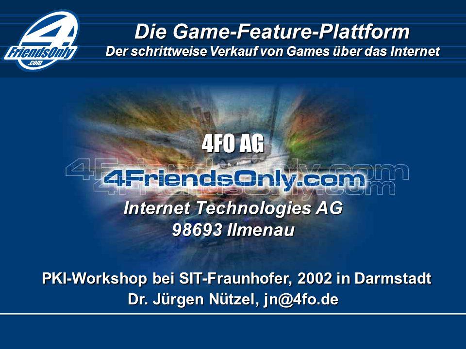 1.11.20024FO AG, www.4fo.de/de/gfp - Dr.