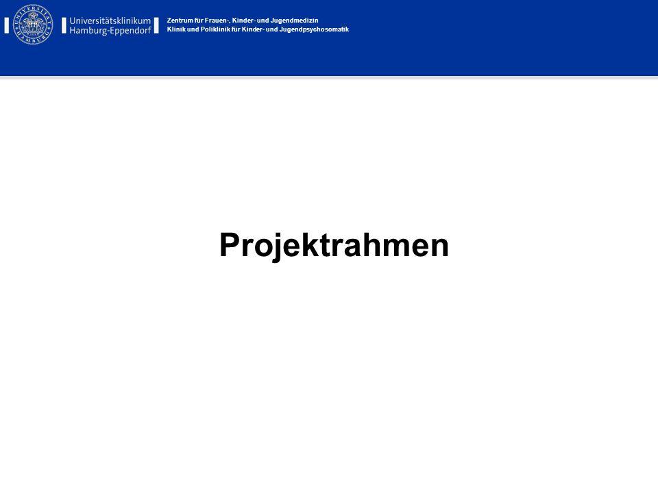 Zentrum für Frauen-, Kinder- und Jugendmedizin Klinik und Poliklinik für Kinder- und Jugendpsychosomatik Das Projekt BUCHSTART Im Januar 2007 startete die Hamburger Kulturbehörde ein Projekt zur Frühförderung von Hamburger Kindern.
