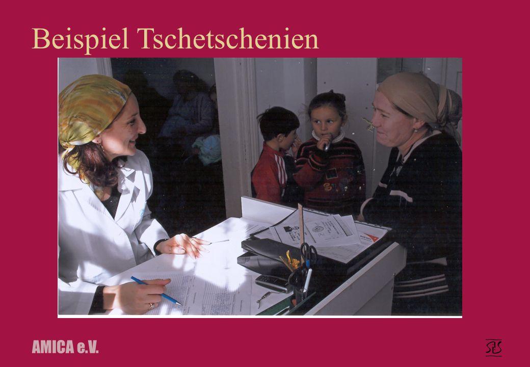 AMICA e.V. Beispiel Tschetschenien