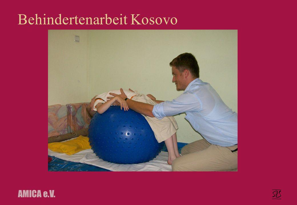 AMICA e.V. Behindertenarbeit Kosovo