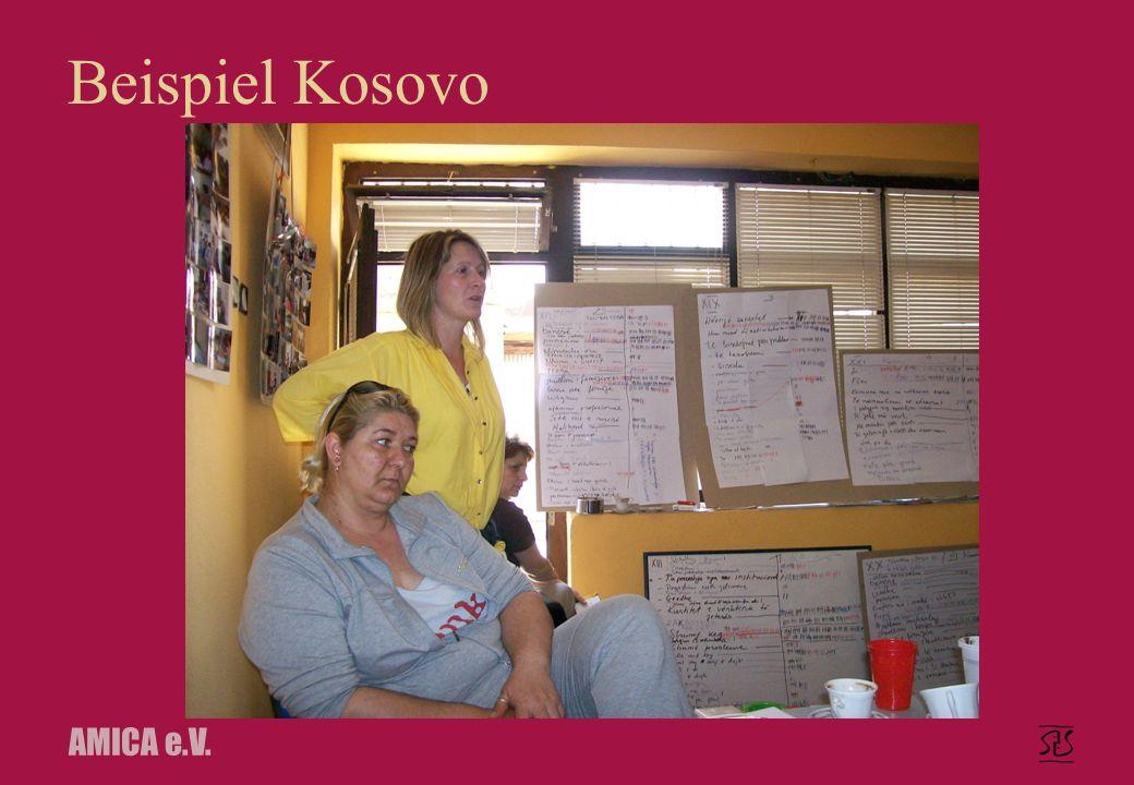 AMICA e.V. Beispiel Kosovo