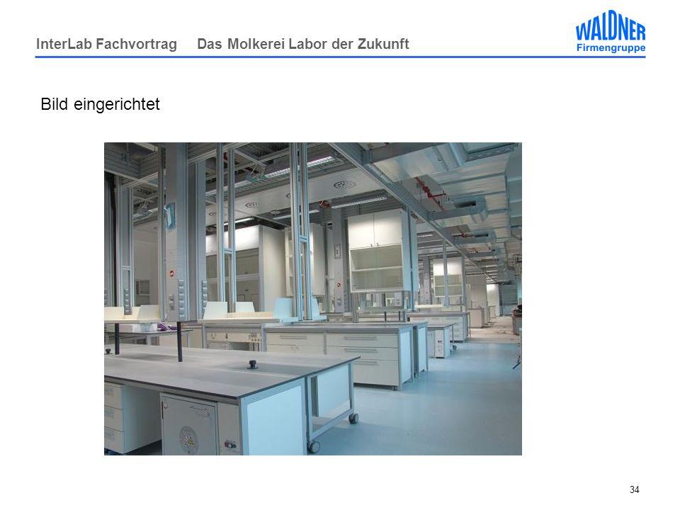 InterLab Fachvortrag Das Molkerei Labor der Zukunft 34 Bild eingerichtet
